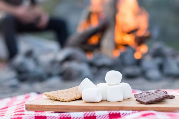 smores Set up Your Yard for a Backyard Camping Adventure