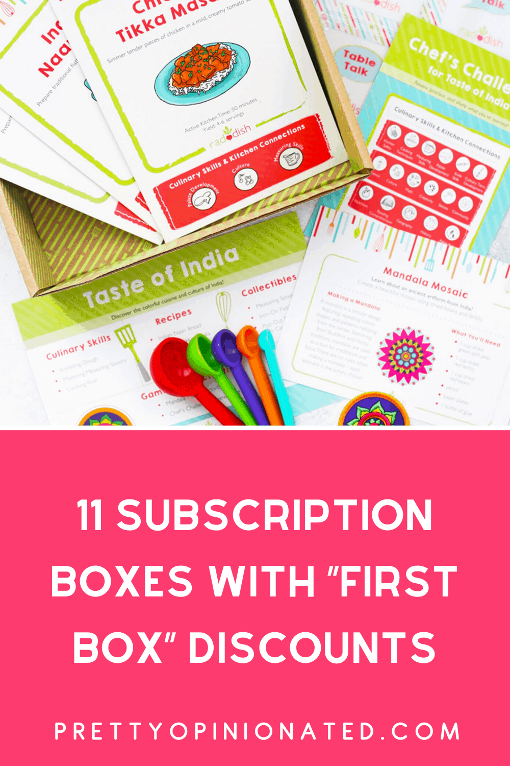 Check out 11 subscription boxes that offer deep discounts on your first box so you can actually make sure you like it before committing to full price.