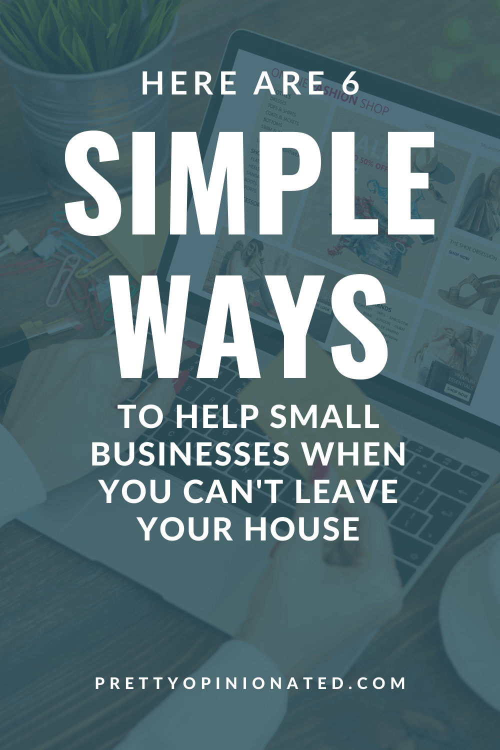 Small businesses are taking a huge hit right now, costing families their livelihood. If you want to help them survive, read on for 6 things you can do right from your own home.