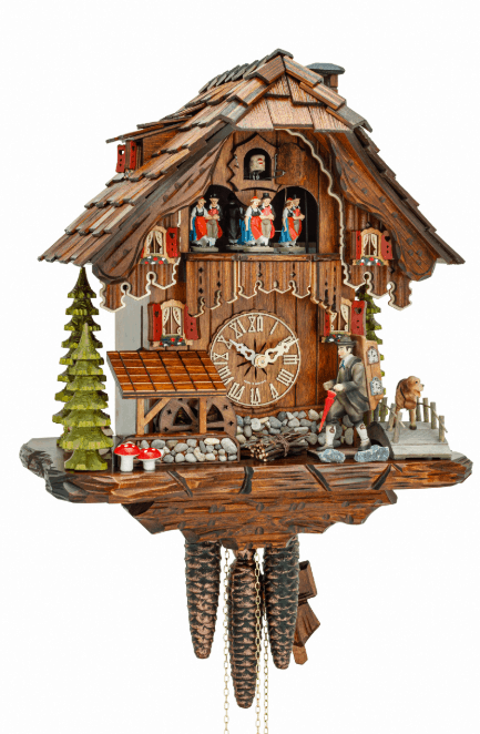 Black Forest house style cuckoo clock Where to Find Authentic Black Forest Cuckoo Clocks