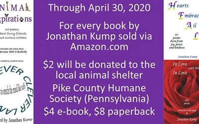 Poet & Certified Laughter Leader Jonathan Kump  Spreads Joy While Helping Animals in Need
