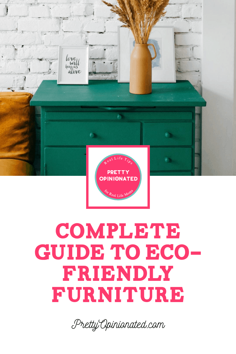 Whether you're planning to redecorate your existing home or striking out on your own for the first time without so much as a single chair to your name, you'll love this guide to eco-friendly home furnishings!