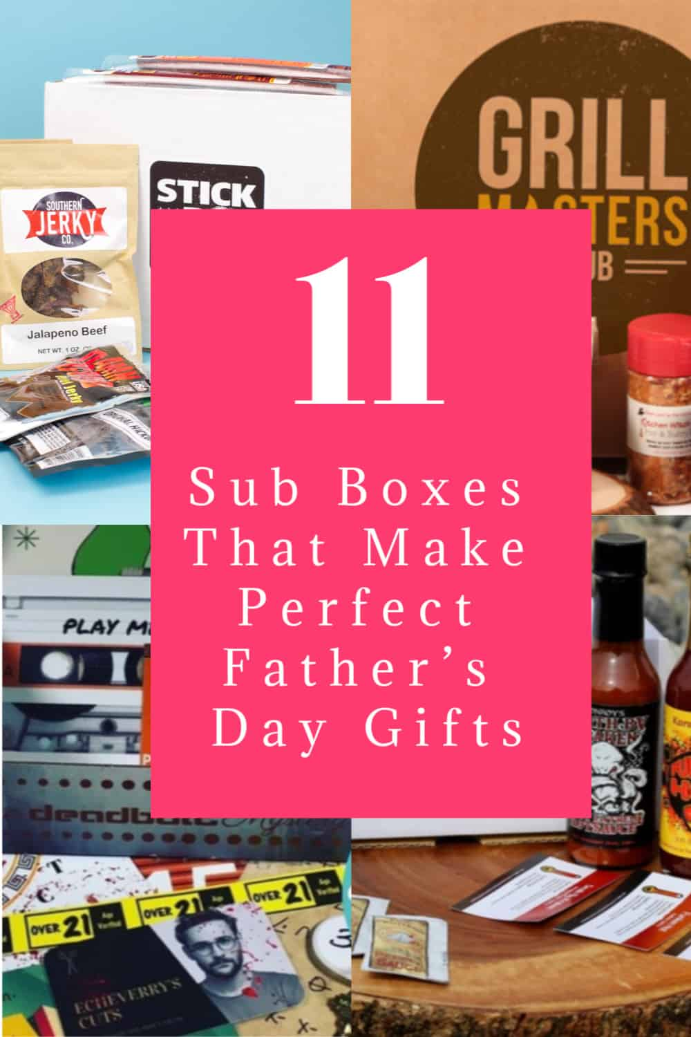 If you're at a loss for ideas for dad, I've got you covered. Check out these subscription boxes that make great Father's Day Gifts!