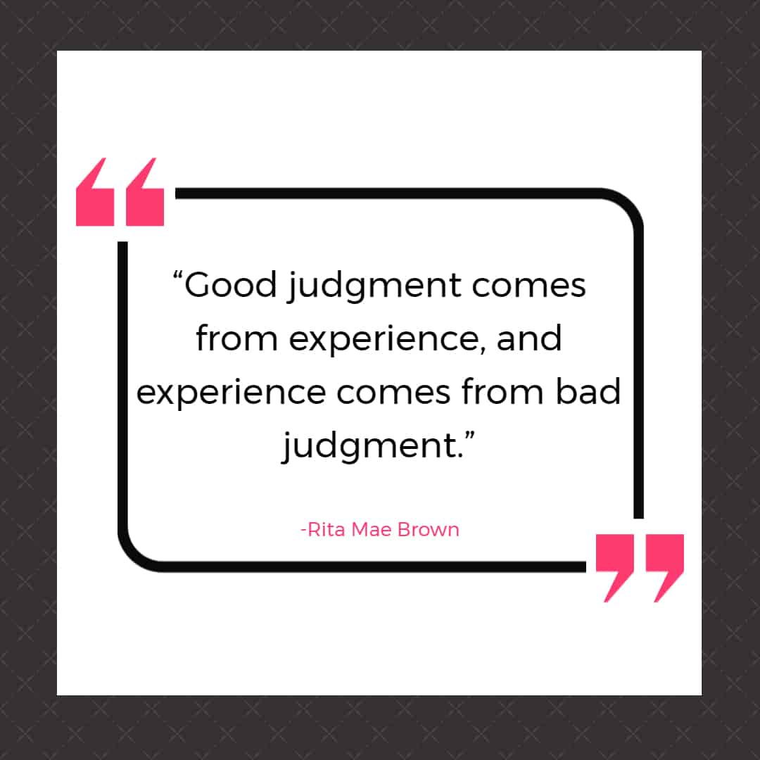 mistake quotes rita mae 25 Quotes About Mistakes That (Hopefully) Inspire You to Stop Judging Yourself so Harshly