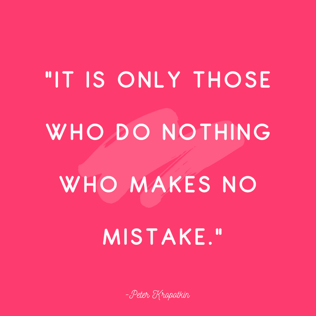 mistakes quotes peter 25 Quotes About Mistakes That (Hopefully) Inspire You to Stop Judging Yourself so Harshly