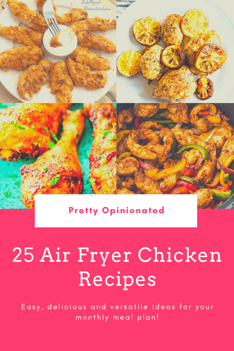 air fryer chicken recipes 09 25 Air Fryer Chicken Recipes to Add to Your Monthly Meal Plan
