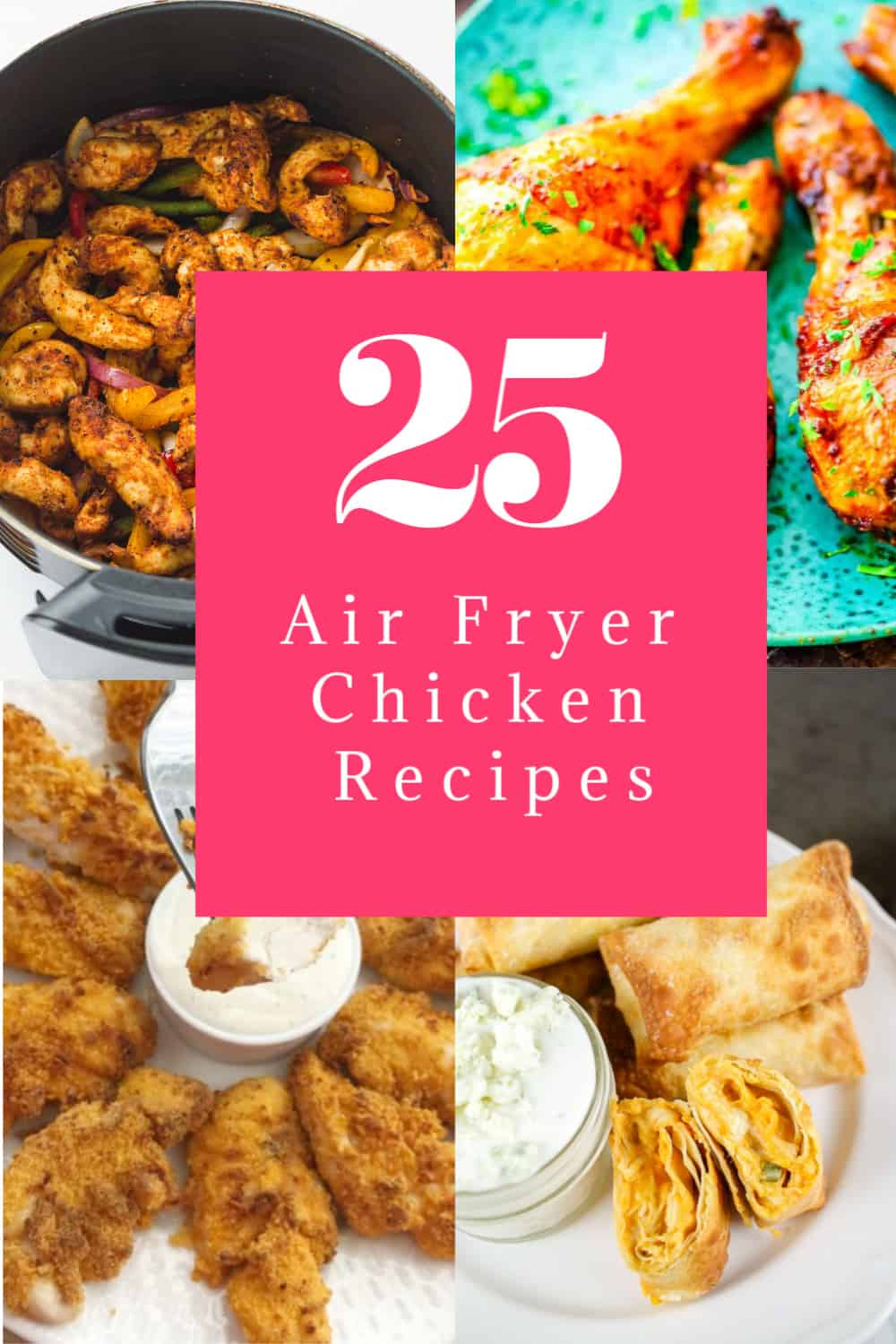 air fryer chicken recipes p 25 Air Fryer Chicken Recipes to Add to Your Monthly Meal Plan