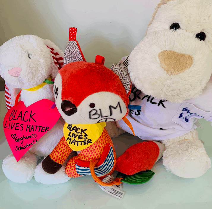 Bear the Truth, Be the Change Organizes a Teddy Bear Picnic So Kids Can Show Support for #BlackLivesMatter