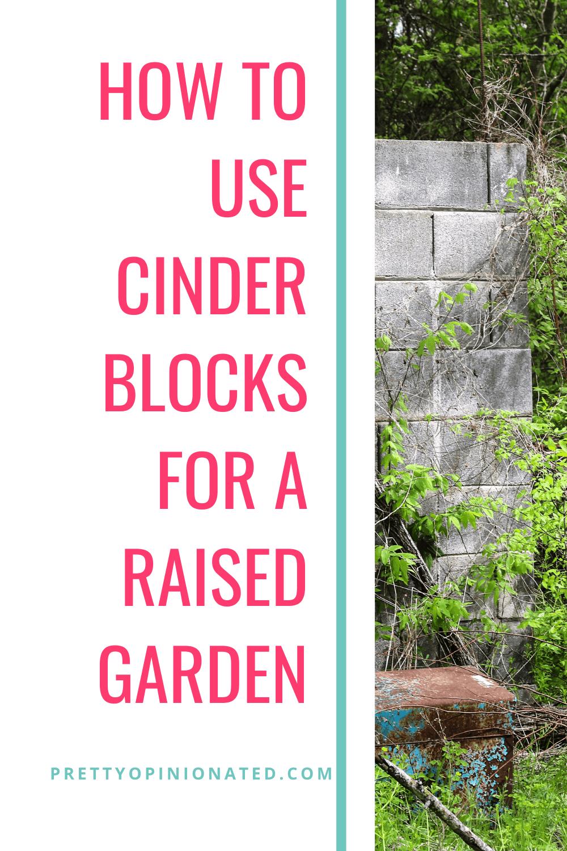 cinder blocks raised garden bed diy 01 How to Use Cinder Blocks to Make a Raised Garden