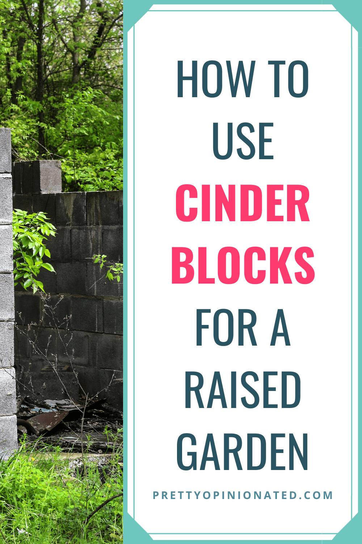 cinder blocks raised garden bed diy 02 How to Use Cinder Blocks to Make a Raised Garden