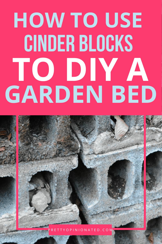 cinder blocks raised garden bed diy 06 How to Use Cinder Blocks to Make a Raised Garden