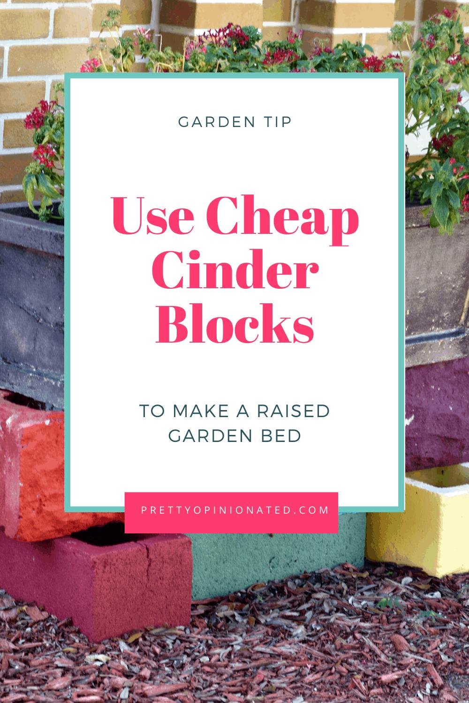 cinder blocks raised garden bed diy 07 How to Use Cinder Blocks to Make a Raised Garden