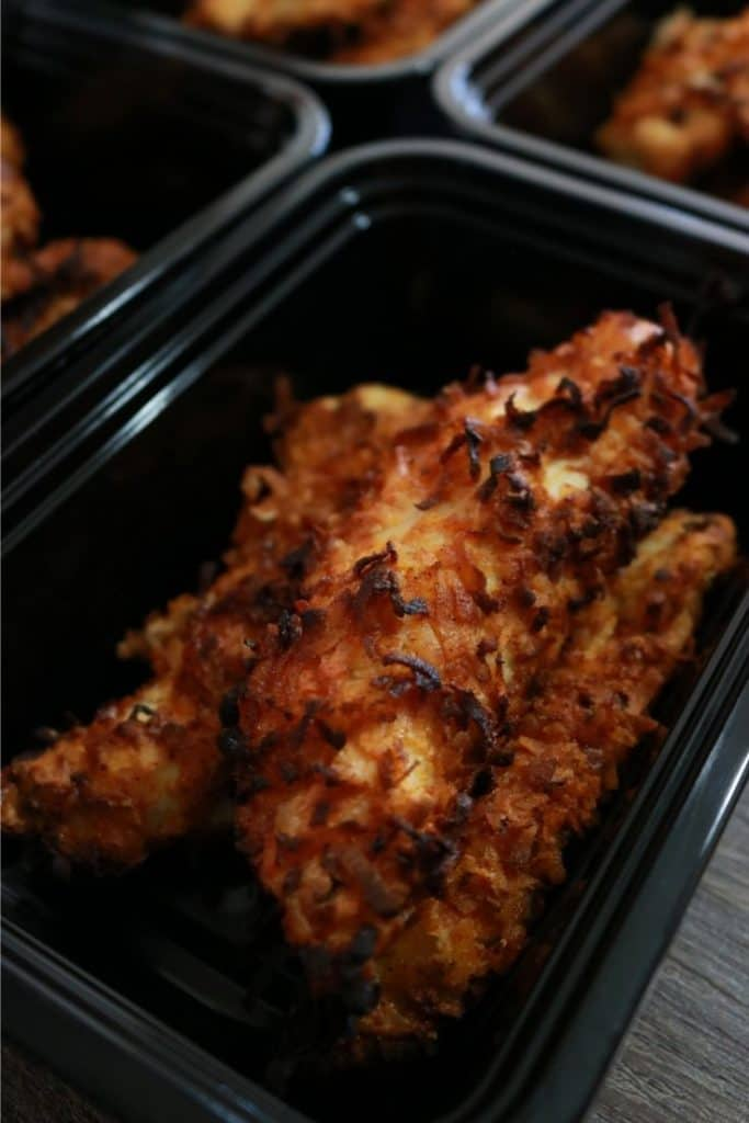 coconut tenders 2 683x1024 1 25 Air Fryer Chicken Recipes to Add to Your Monthly Meal Plan