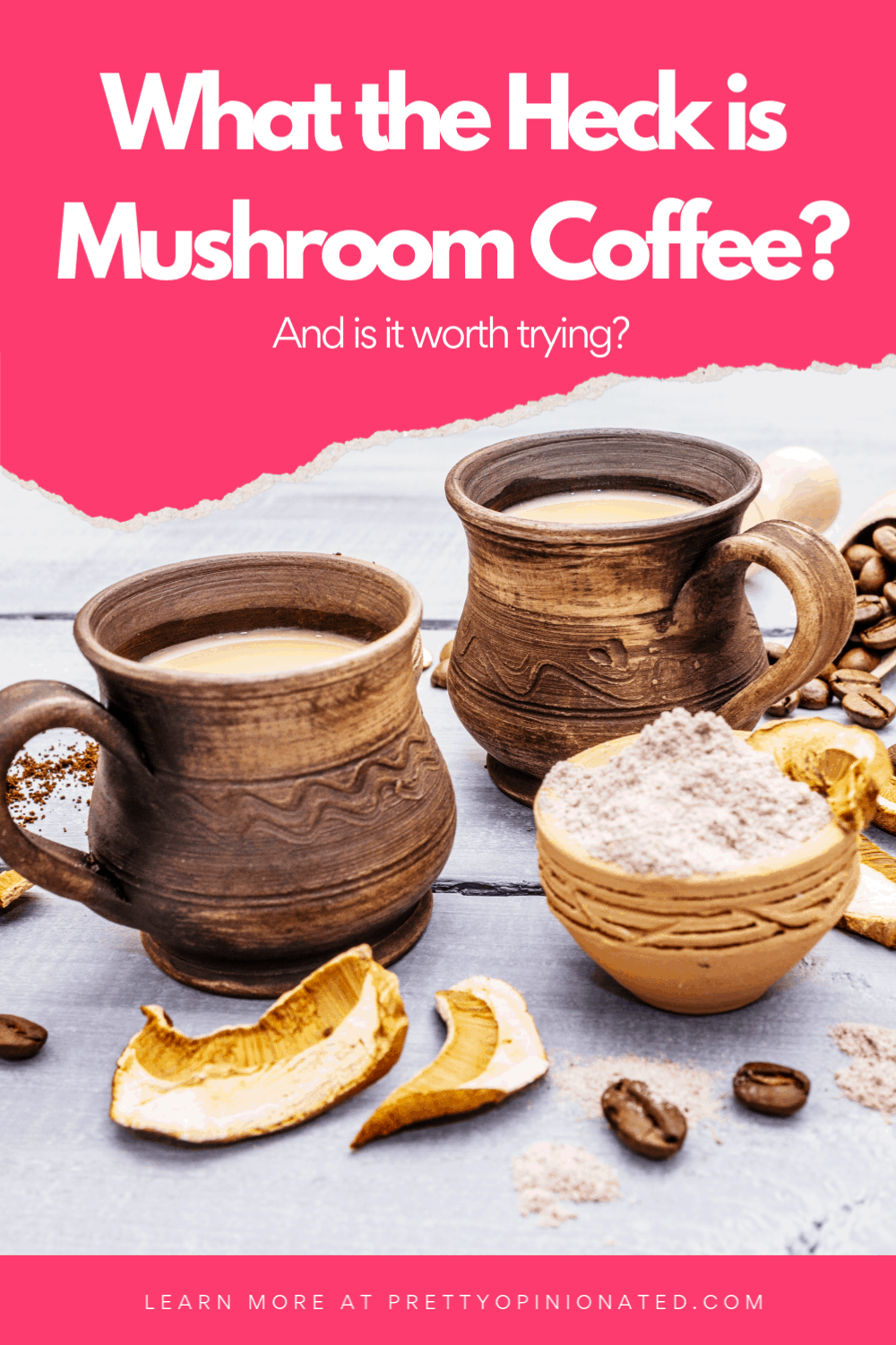 What is mushroom coffee