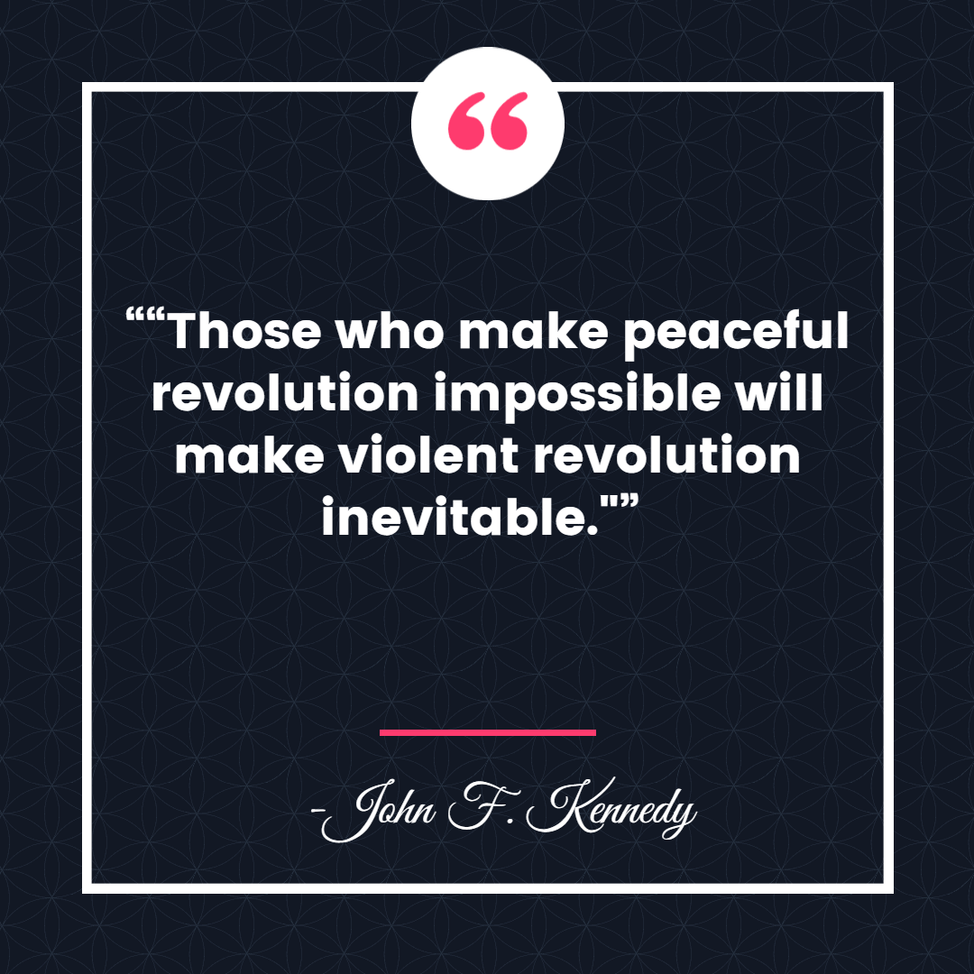 peaceful revolution 14 Inspiring Quotes about Freedom and Revolution