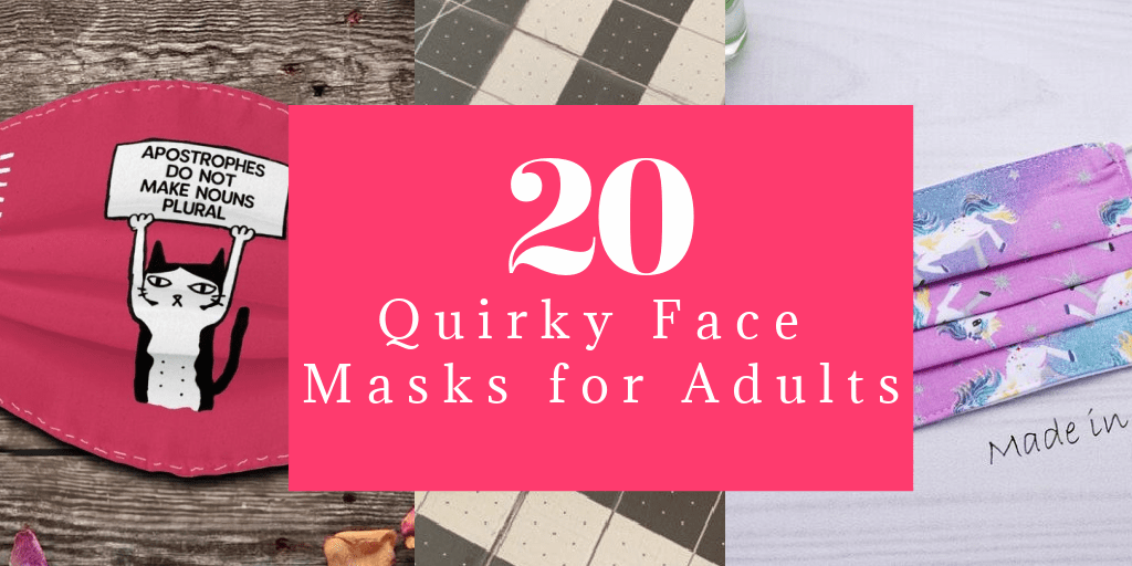 20 Cute & Quirky Face Masks for Adults That Are Almost Actually Fun to Wear