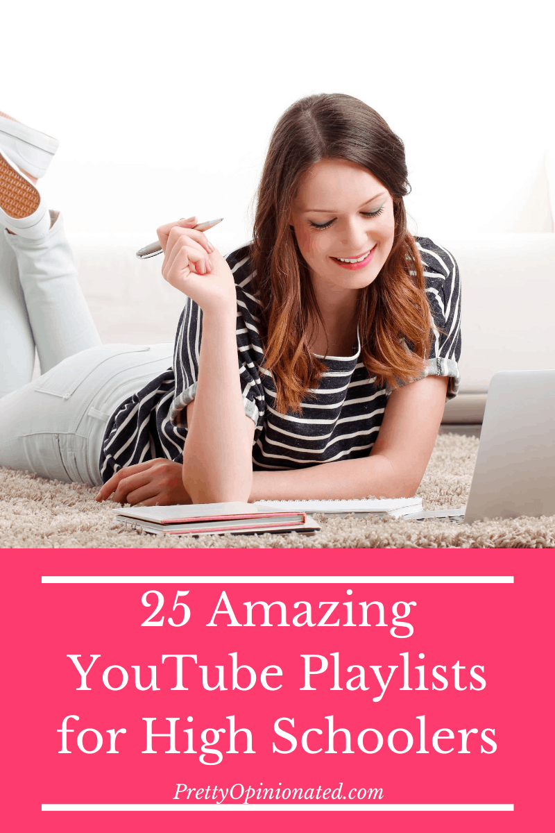 25 Educational YouTube Playlists That Won't Bore Your High School Student to Tears