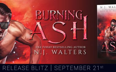 Burning Ash (Forgotten Brotherhood Book 3) by N.J. Walters Released Today