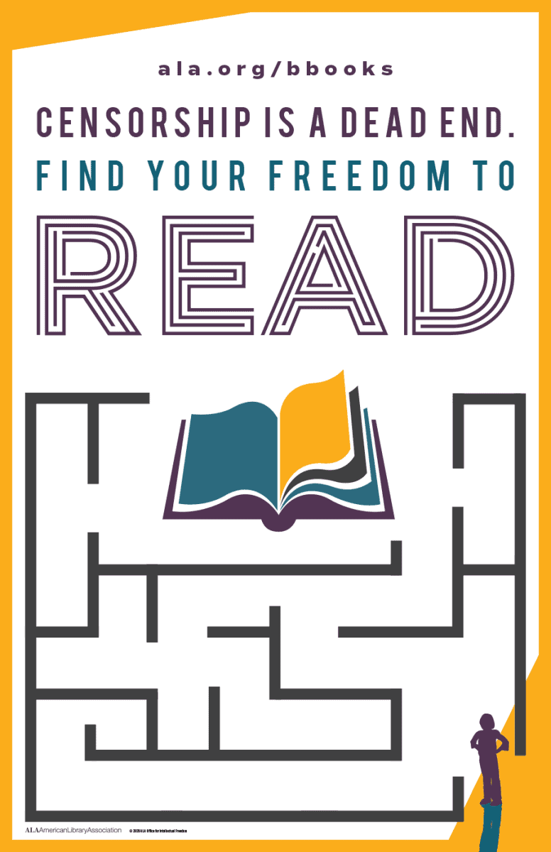 Find Your Freedom to Read During Banned Books Week