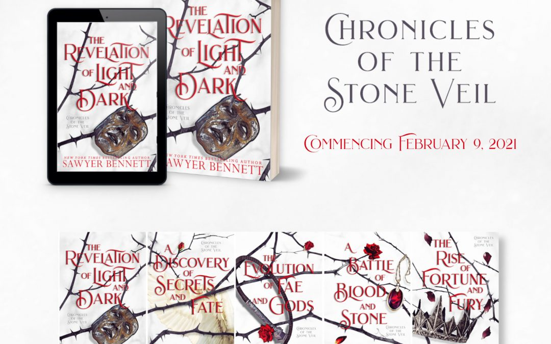 Check out This Gorgeous Cover Reveal for The Chronicles of the Stone Veil (+ Giveaway)