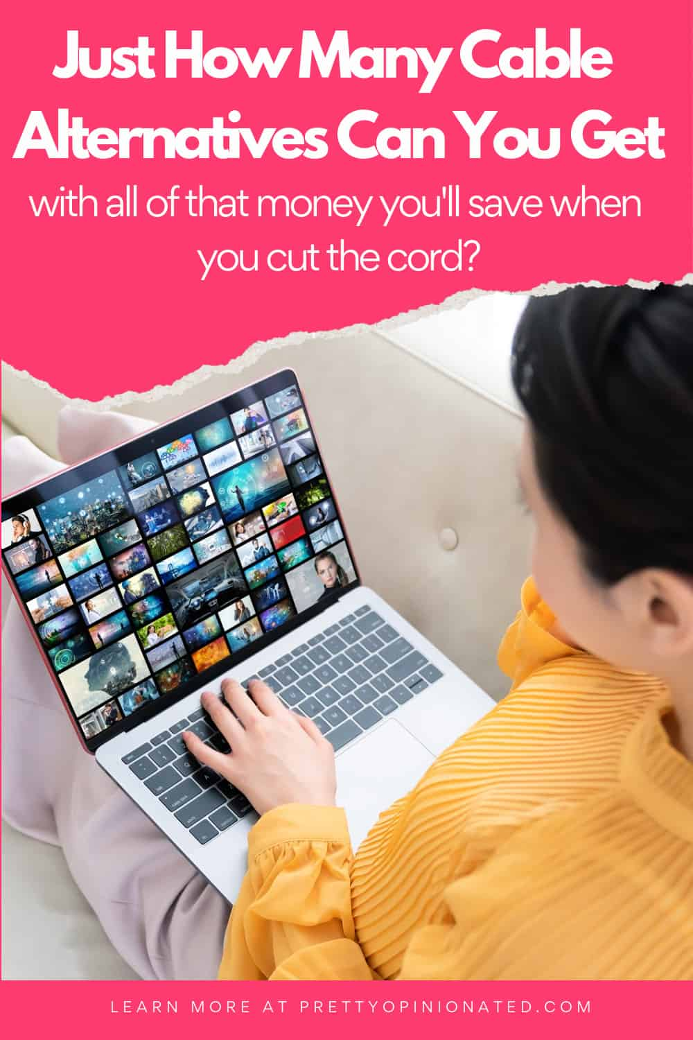 My cable company raised my bill by $100 a month, so I'm cutting the cord. See how many cable alternatives you can get with all the money you'll save!