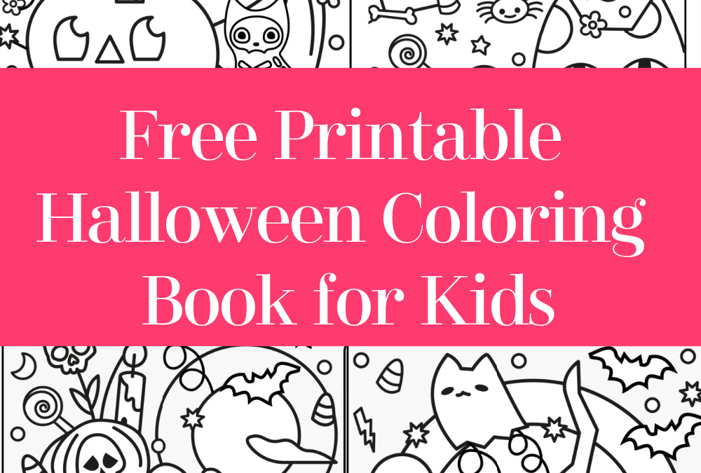 Free Printable Halloween Coloring Book for Kids (No Strings Attached)