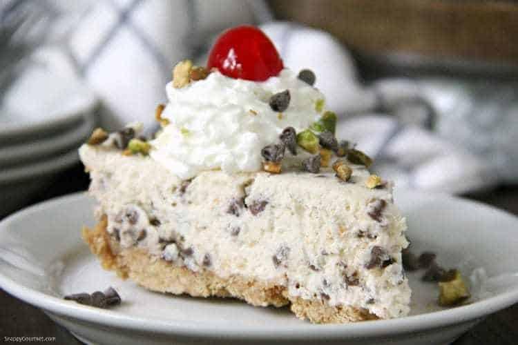 Cannoli Pie 6a wm 25 Amazing Pie Recipes for Thanksgiving, Christmas & Beyond