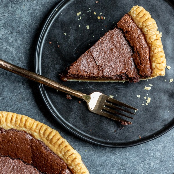 Chocolate Chess Pie IG 2 25 Amazing Pie Recipes for Thanksgiving, Christmas & Beyond