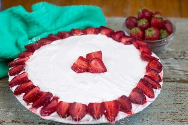 Easy No Bake Strawberry Cream Pie Martys Musings 7 25 Amazing Pie Recipes for Thanksgiving, Christmas & Beyond