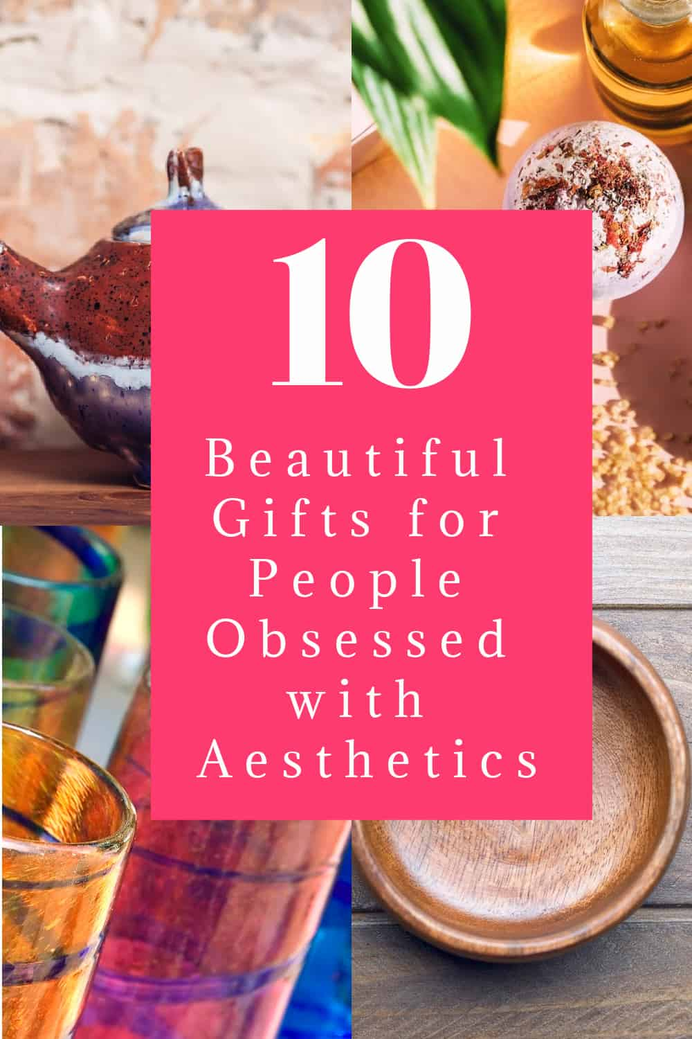 Got a friend that's obsessed with the aesthetics trend? In other words, someone who loves beautiful things simply because they're beautiful? Well, this gift guide is for you!