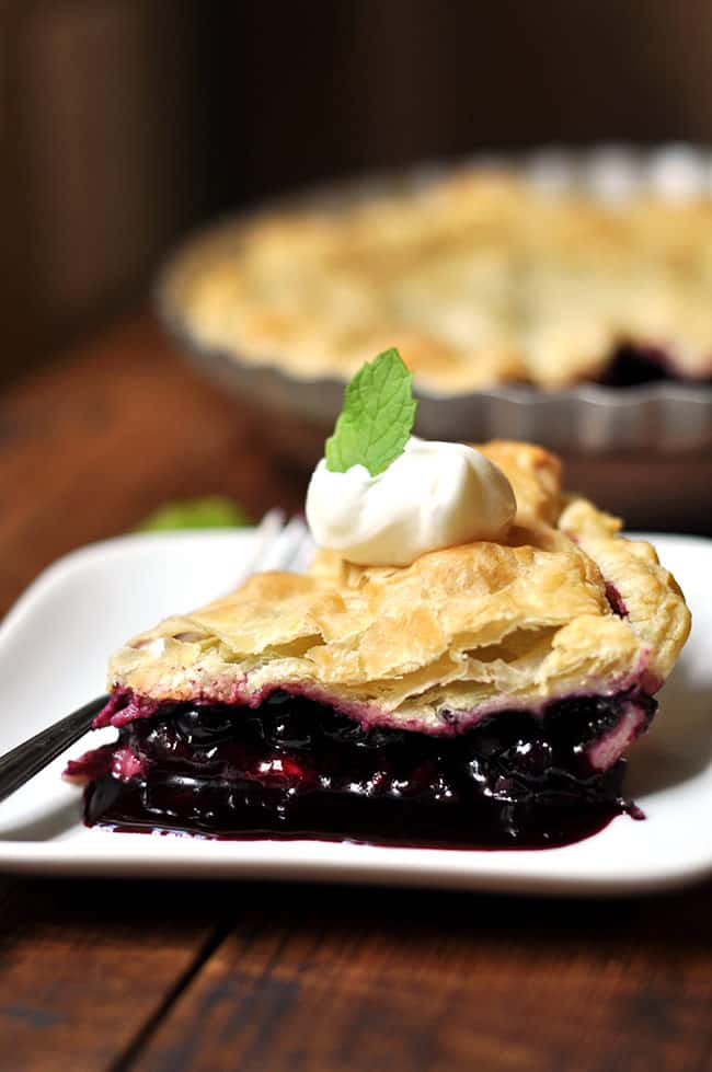 Puff Pastry Blueberry Pie Recipes
