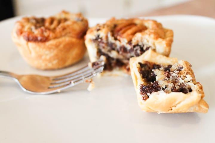 Mini Chocolate Pecan Pie Recipes