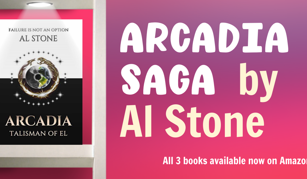 Find Out What Happens When Two Worlds Collide in Arcadia Saga by Al Stone (with Excerpt)