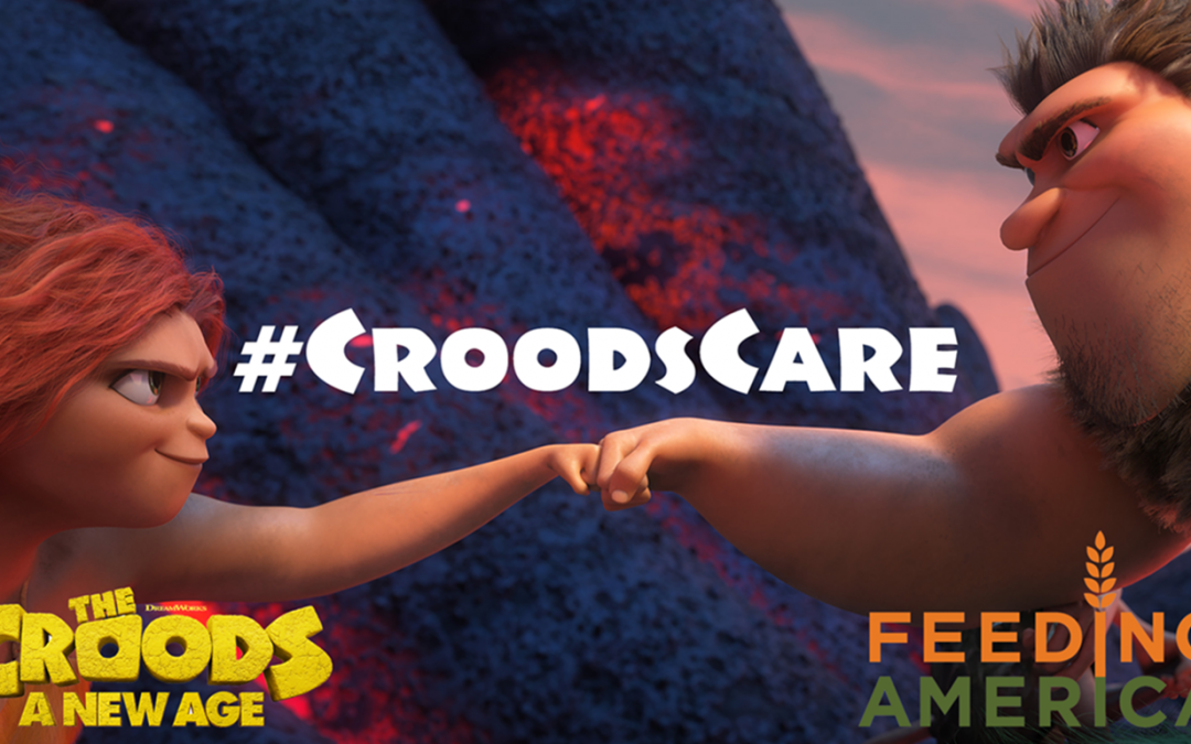 Help The Croods & Feeding America Provide 1 Million Meals to Families in Need This Holiday Season