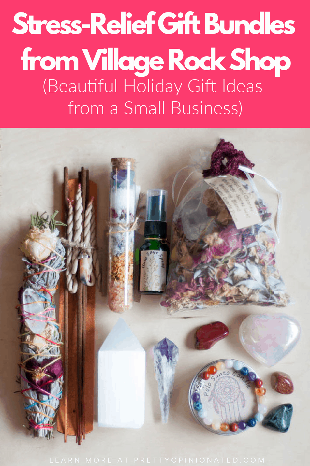 Stress Reliever Gift Bundles from Village Rock Shop: Perfect for 2020 Holidays