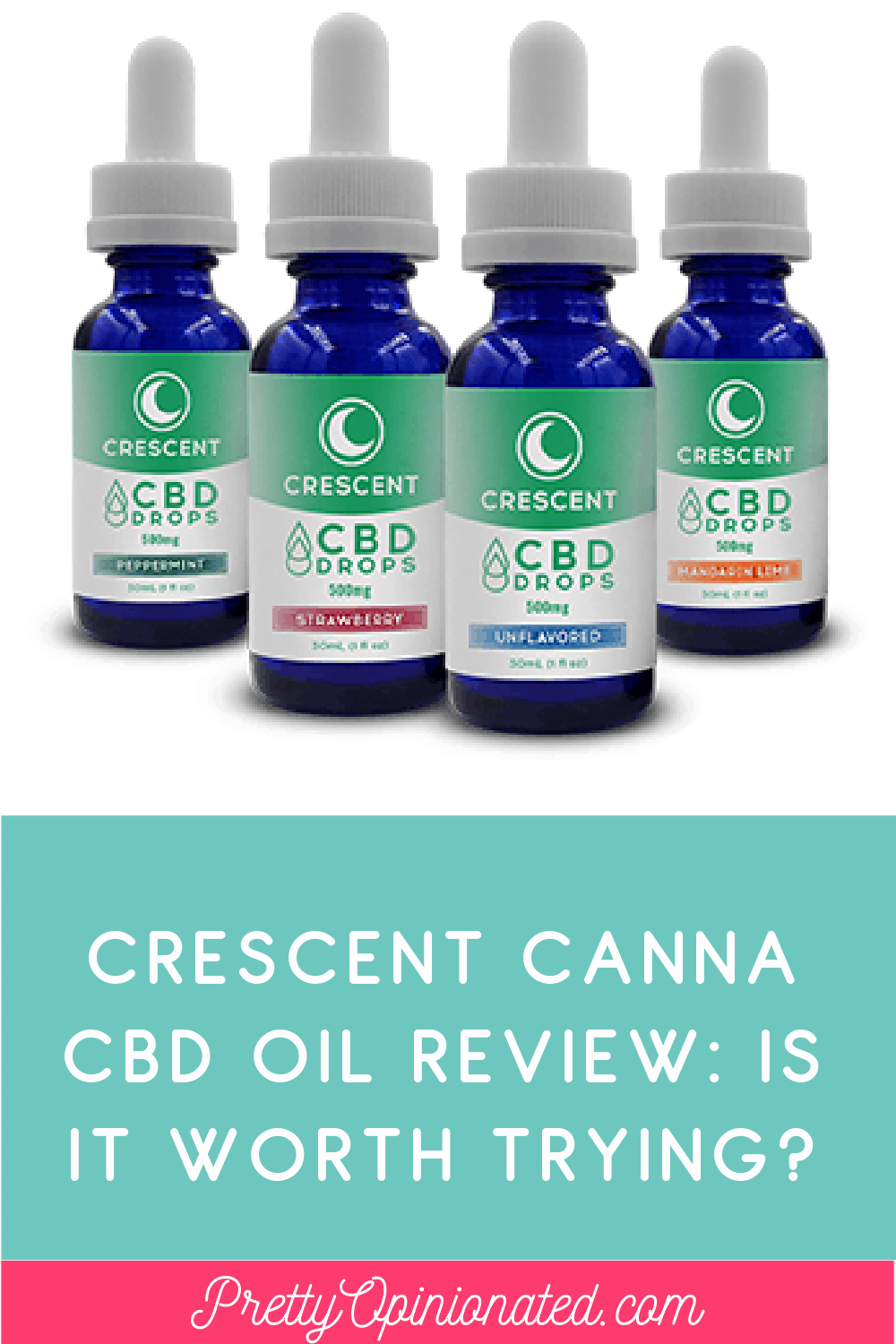 Looking for a Crescent Canna CBD Oil review to find out if it's worth trying? I've got you covered! Read on for my complete thoughts on the varieties, taste, and effectiveness (for me) of this affordable options.