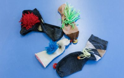 Having Fun at Home: How to Make a Sock-To-Pus