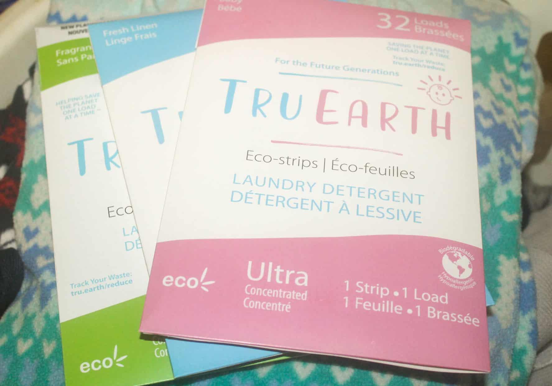 Tru Earth Laundry Eco-Strips varieties