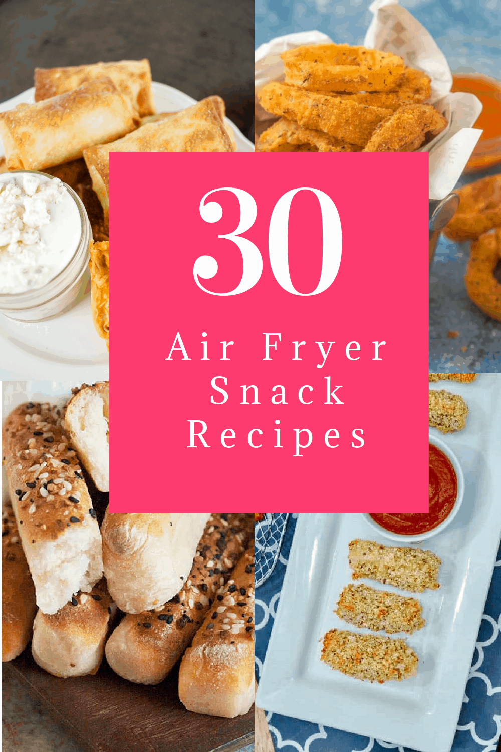 Can't keep your hands out of the deep-fried cookie jar? Perhaps this will help! These air fryer snack recipes prove that you can eat healthier without giving up all your favorite goodies. Check them out!