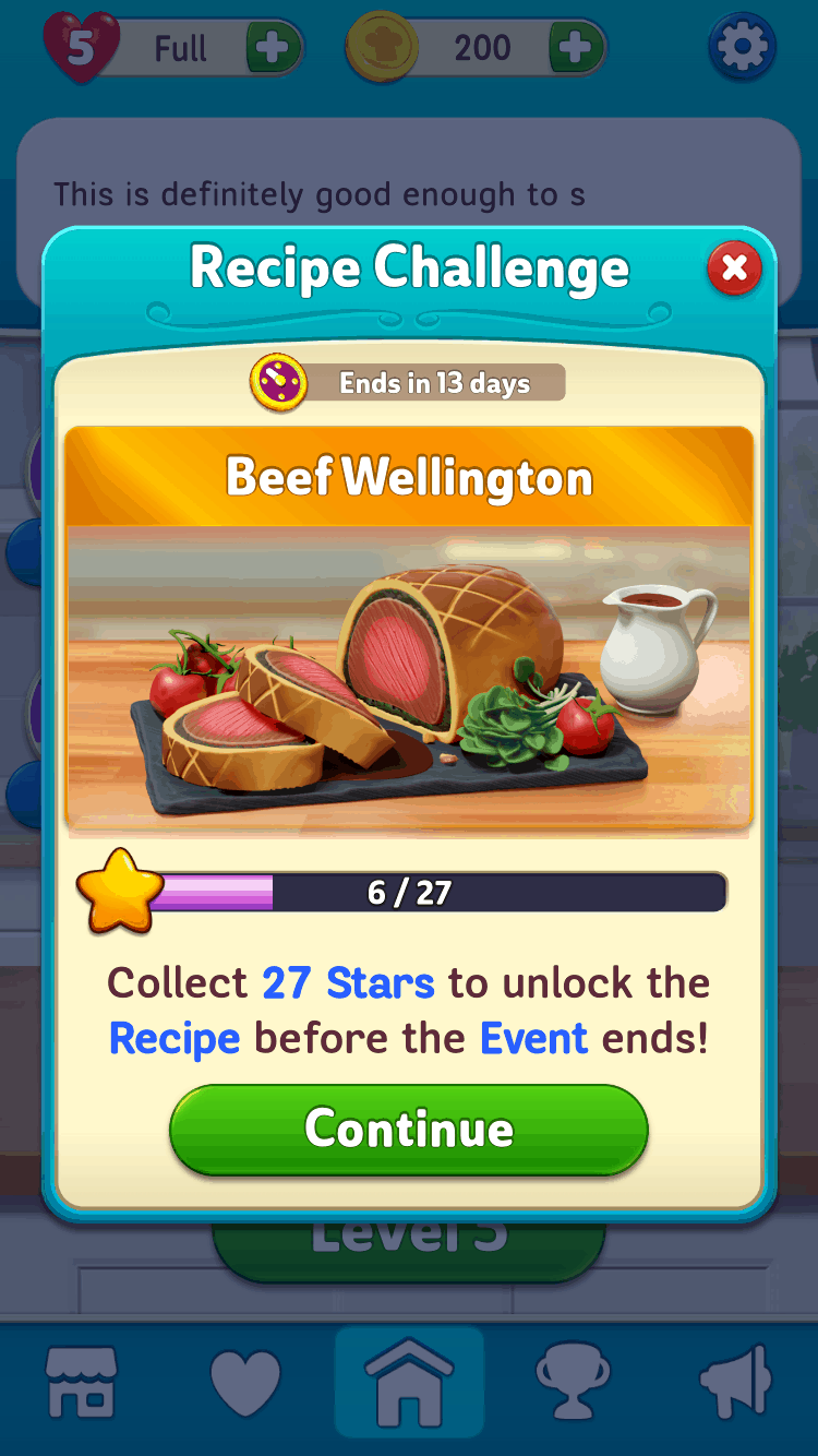 Gordon Ramsay's Chef Blast exclusive recipes beef wellington