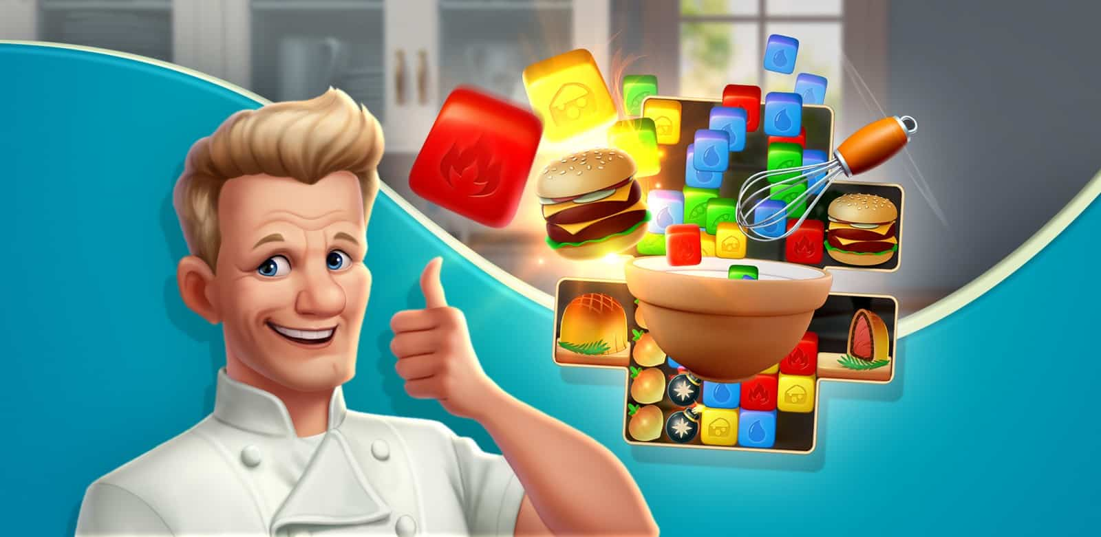Gordon Ramsay's Chef Blast App Review [for Android & IOS]