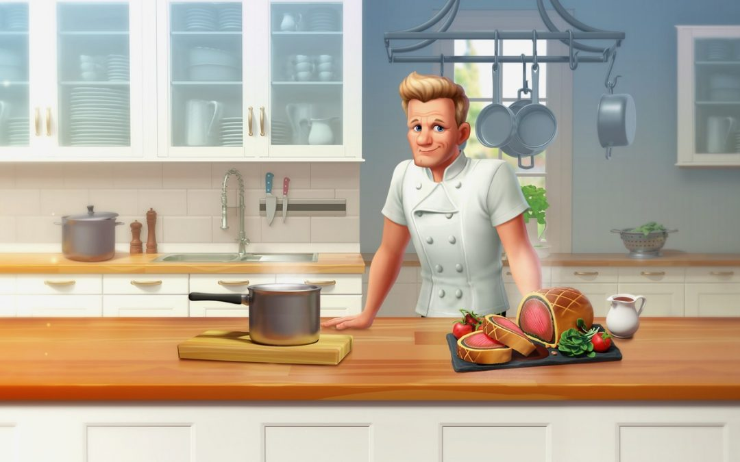 Gordon Ramsay's Chef Blast Lets You Match Your Way to Culinary Genius & Unlock Secret Recipes!