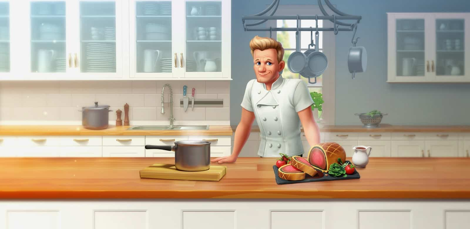 Gordon Ramsay's Chef Blast promotional image