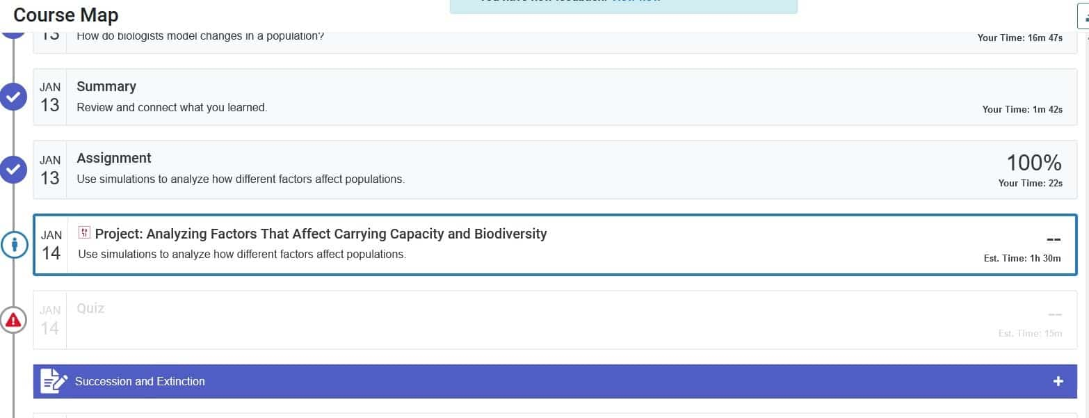 Edgenuity screenshots showing how the platform ruins education