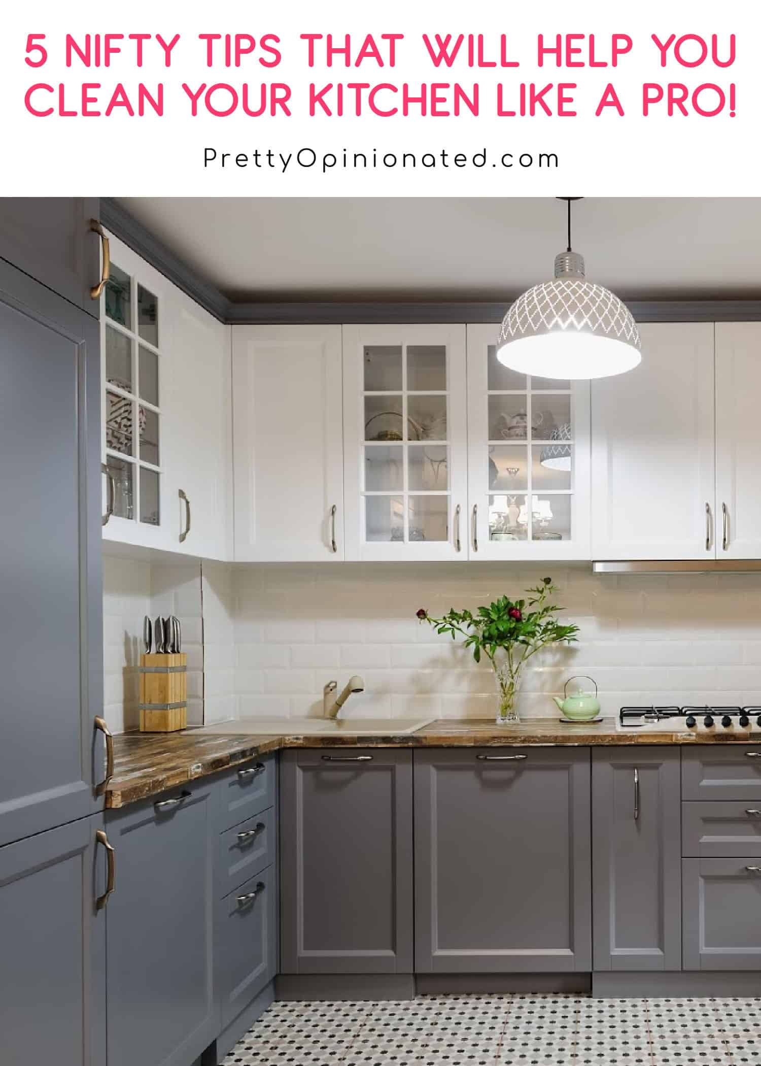 5 Nifty Tips You Can Use to Clean Your Kitchen