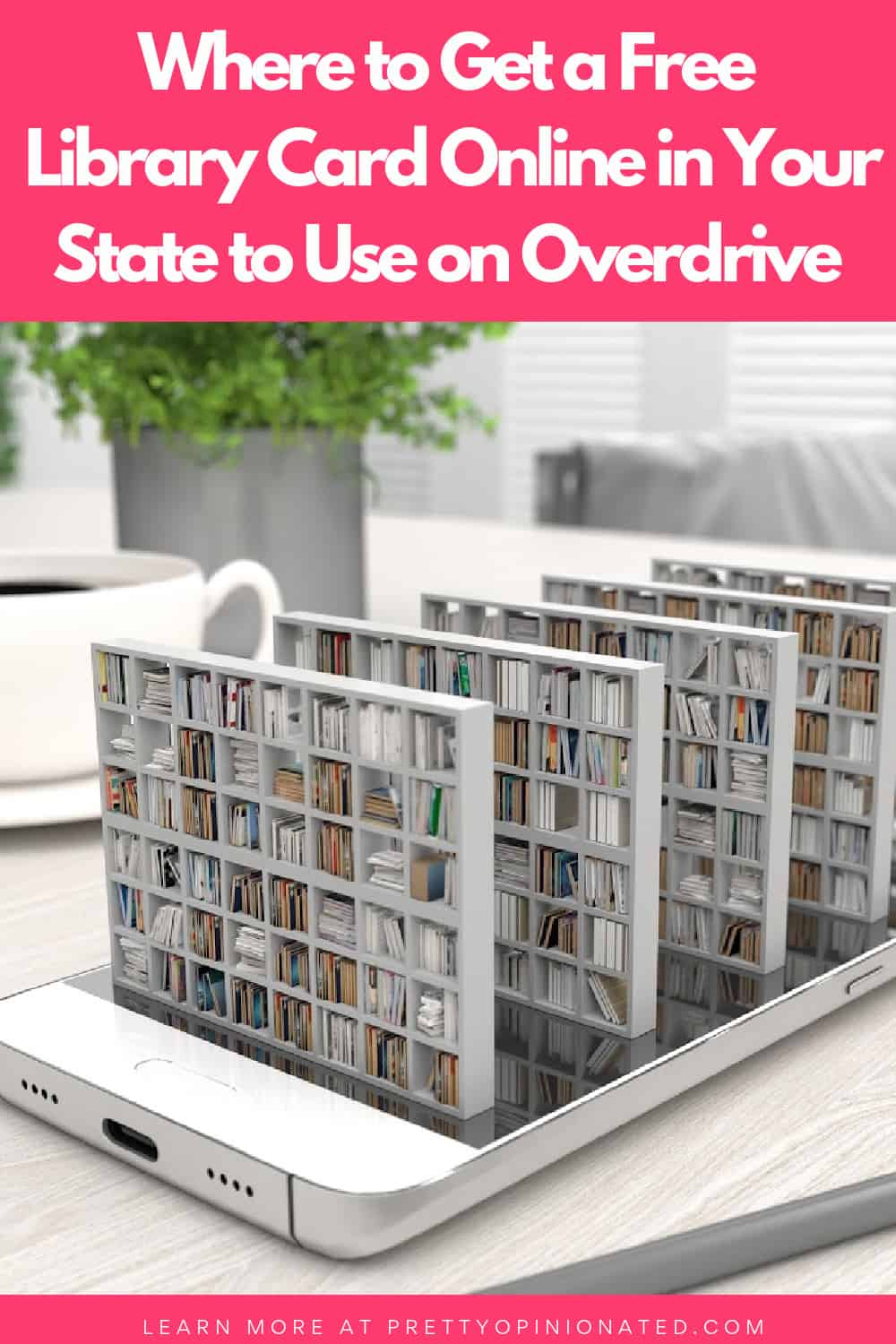 Where To Get A Free Library Card Online To Use On Overdrive