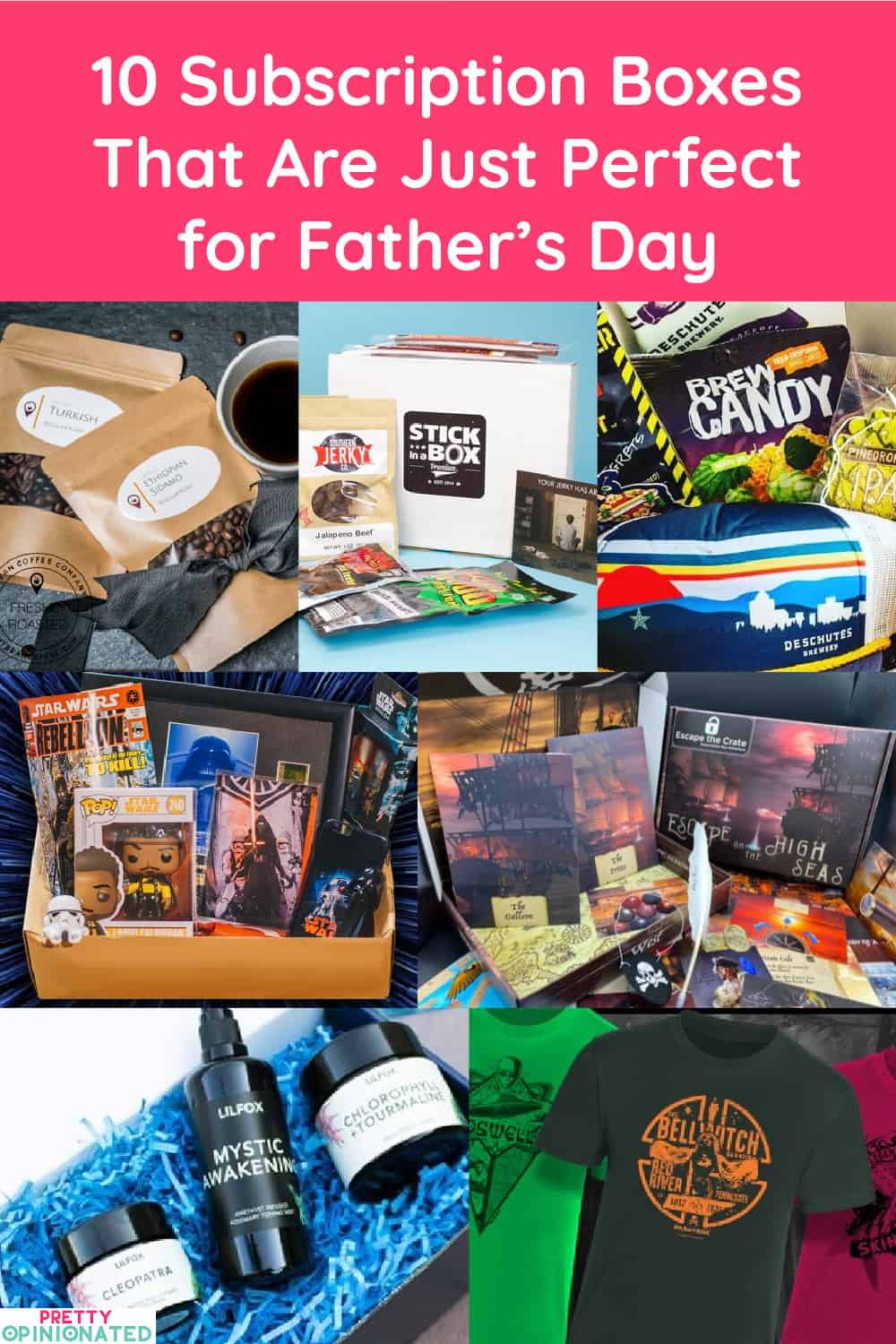 From the ultimate BBQ tools to nifty finds for geeky dads, these subscription boxes prove that sometimes it's okay to think INSIDE the box for Father's Day gift ideas. Check them out!