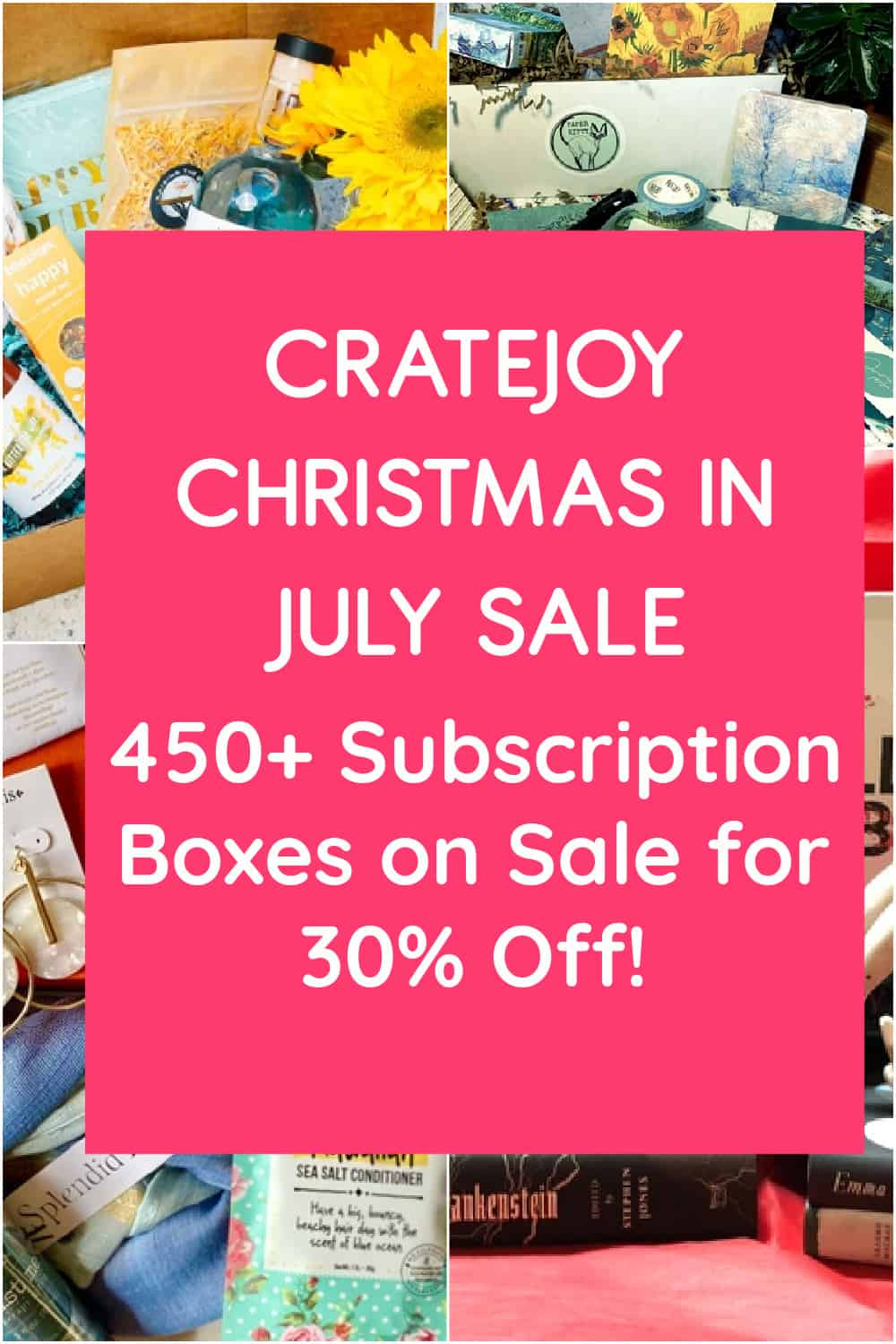 5 Deep-Discount Subscription Boxes to Try During the Cratejoy Christmas in July Sale