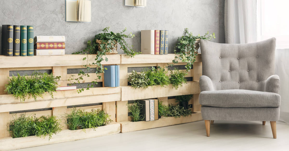 Recycling wooden pallets is such an easy way to help the planet and save a little cash.