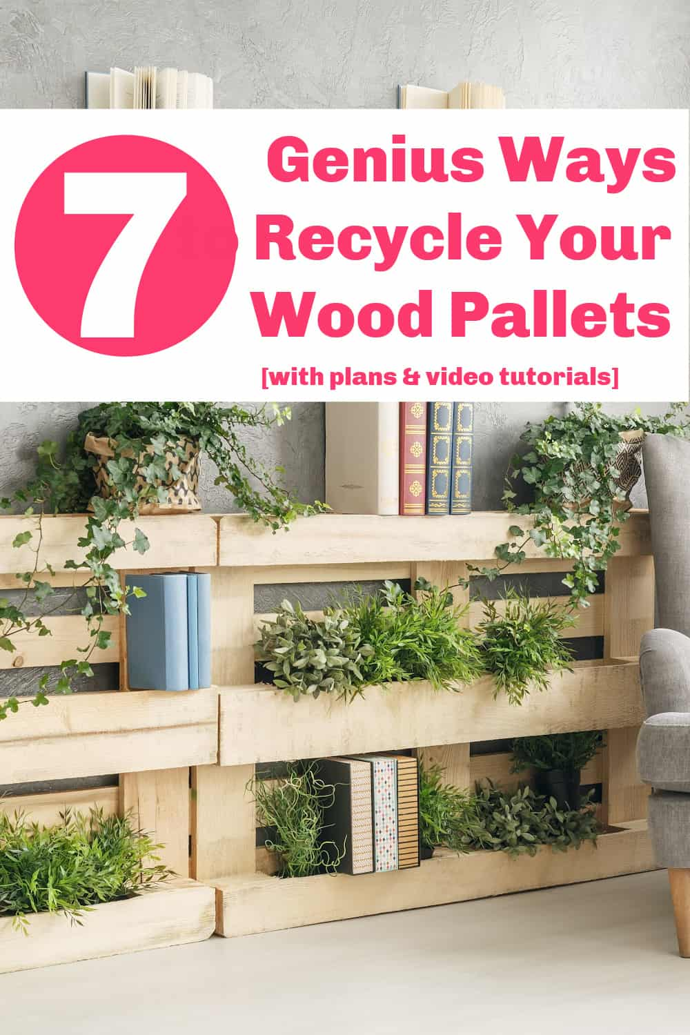 recycling wood pallets ideas